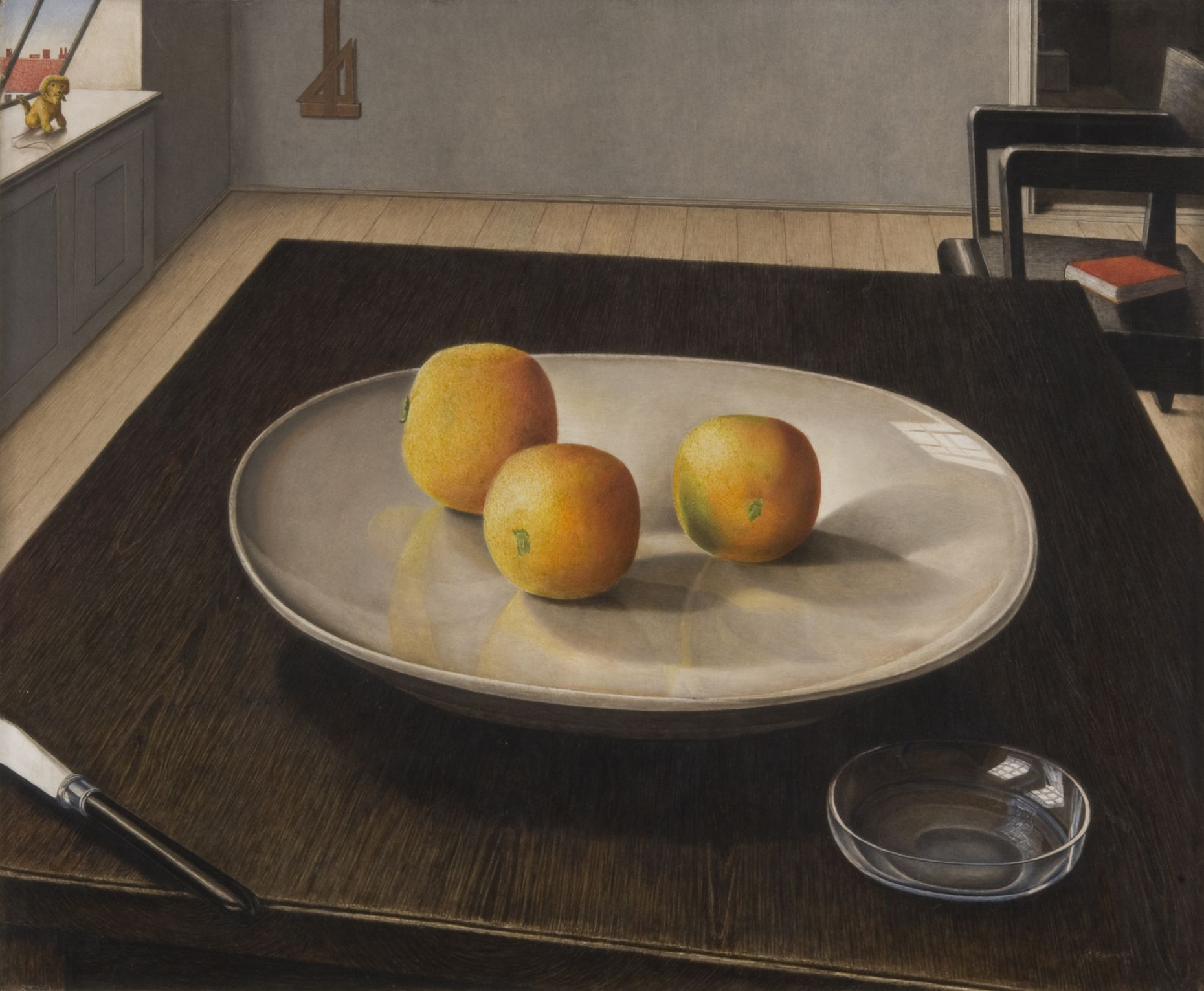 Peter Foerster, Still Life with Oranges, around 1924