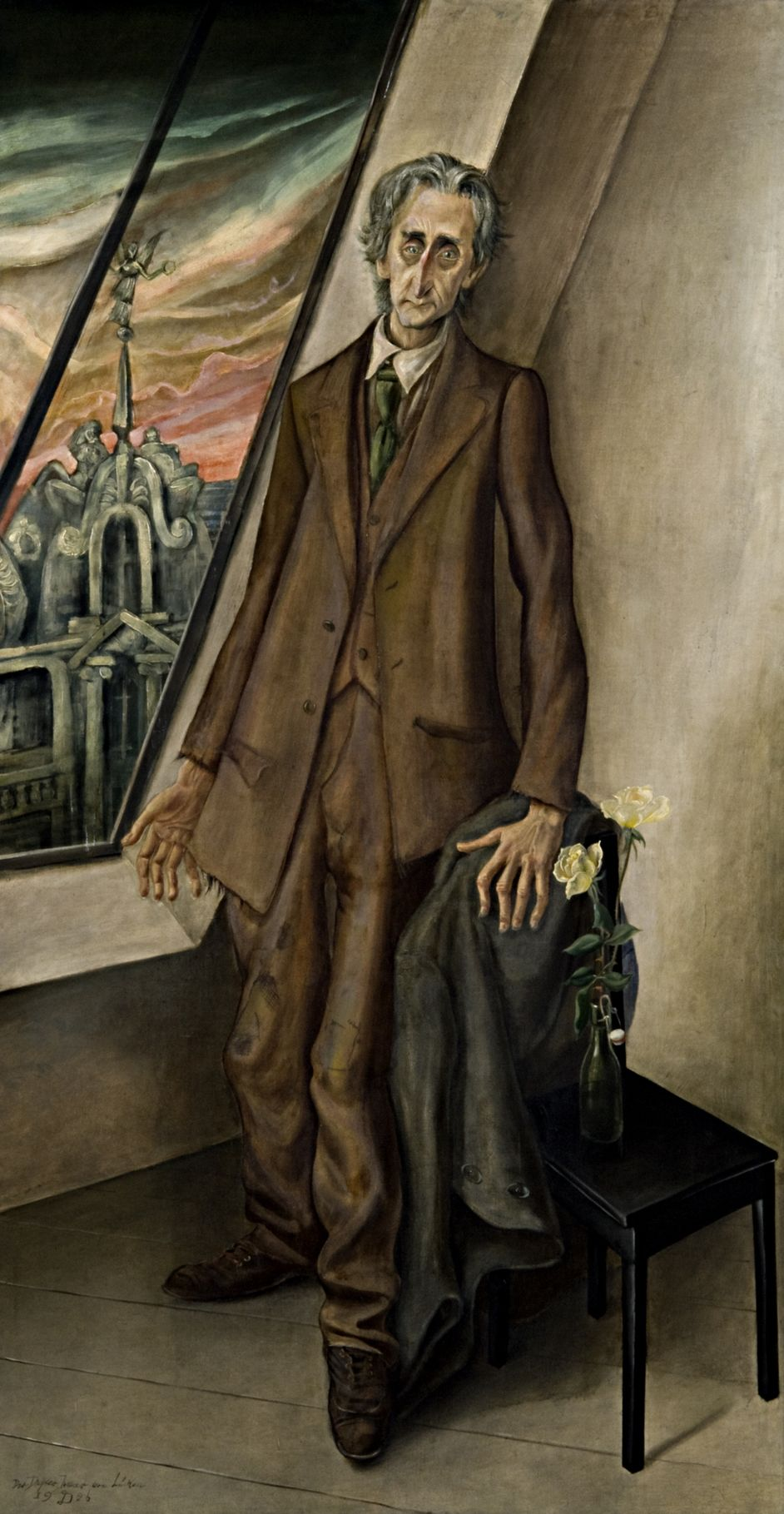 Painting by the painter Otto Dix from 1926